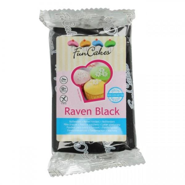 FunCakes Rollfondant Raven Black 250gr