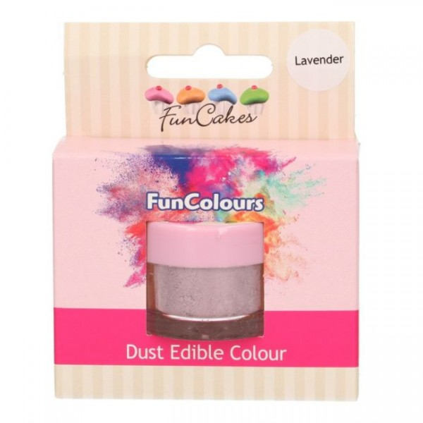 FunCakes Edible FunColours Dust - Lavender