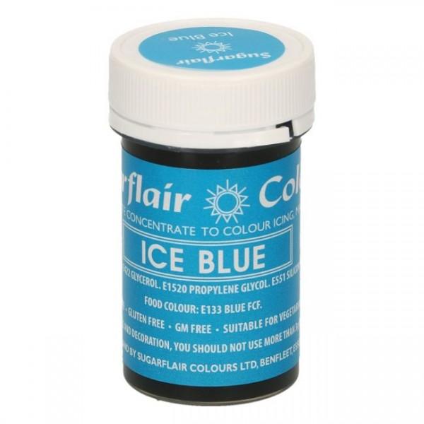 Sugarflair - Pastenfarbe - Ice Blue 25g