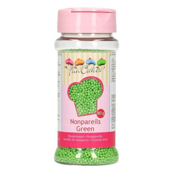 FunCakes Zuckerperlen Nonpareils - Green