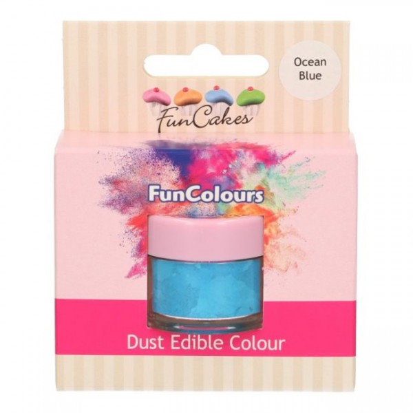 FunCakes Edible FunColours Dust - Ocean Blue