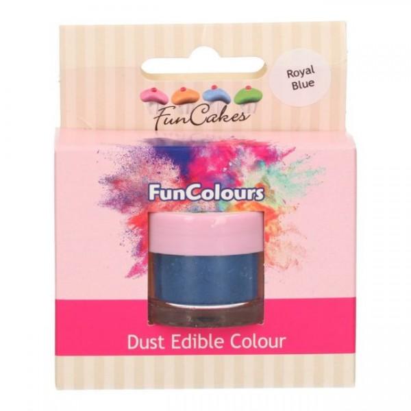 FunCakes Edible FunColours Dust - Royal Blue