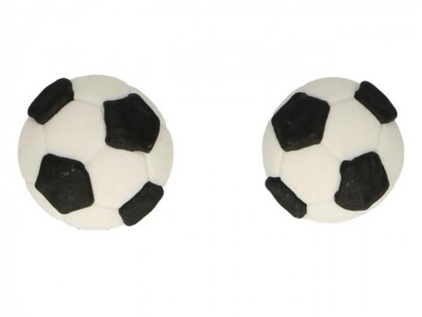Zuckerdeko Fußball 8 tlg Set