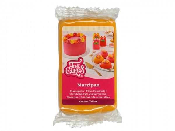 Golden Yellow Marzipan ähnliche Zuckermasse FunCakes - 250gr