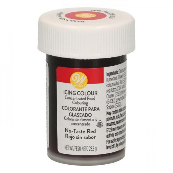 Wilton Icing Lebensmittelfarbe Rot (ohne Geschmack)