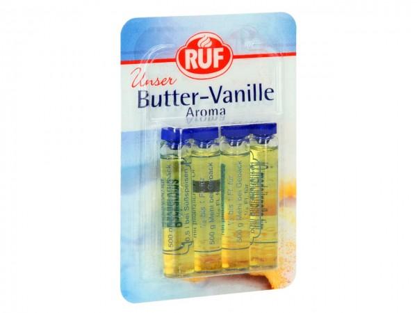 Butter-Vanille Aroma 4er Pack 4x2ml