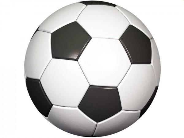 Tortenaufleger Fußball rund 30cm