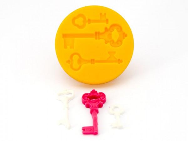 Schlüssel Silikonform