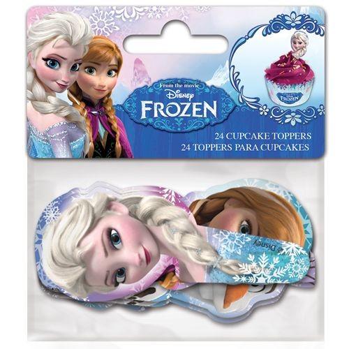Cupcake Topper Frozen 24 Stck
