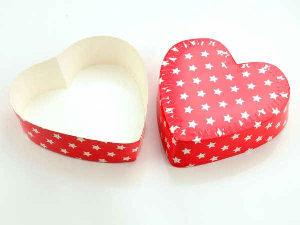 Papierbackform Herz 12,5 cm 2 Stück