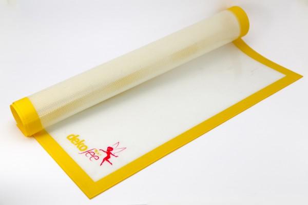 dekofee Arbeitsunterlage Silikon Glasfaser (60cm x 50cm, antihaftbeschichtet)