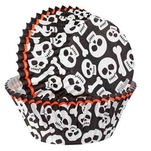 Wilton Cupcake Halloween Grave - 75 Stk