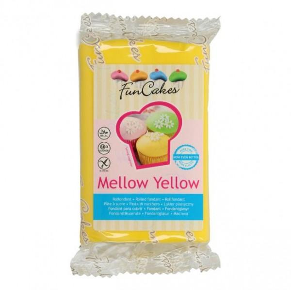 FunCakes Rollfondant Mellow Yellow 250gr