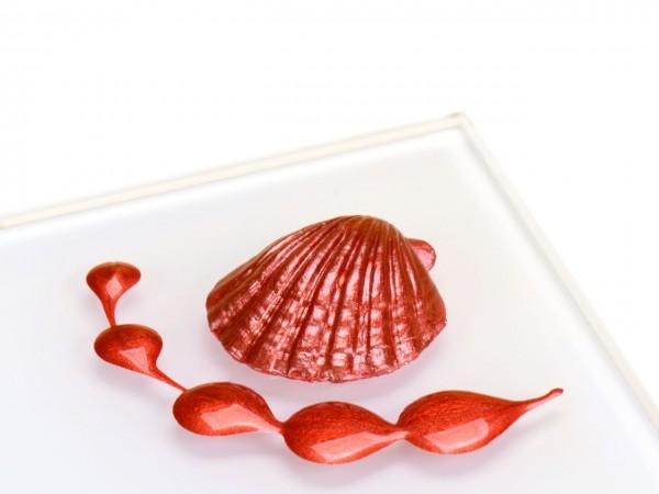 Metallic Rot RD Lebensmittelfarbe