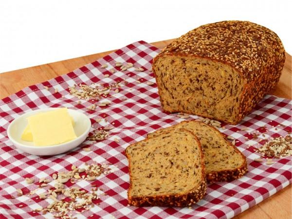 Backmischung Low-Carb Weiweiß Brot 600g
