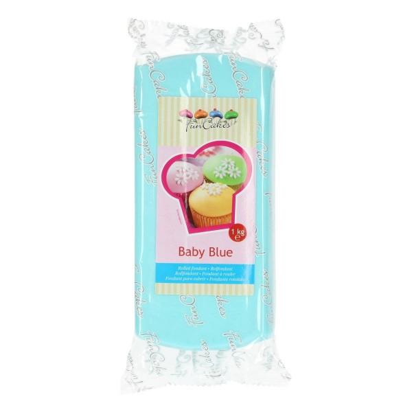 FunCakes Rollfondant Baby Blue - 1kg