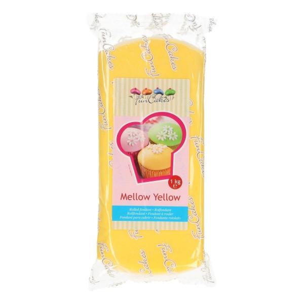 FunCakes Rollfondant Mellow Yellow - 1kg