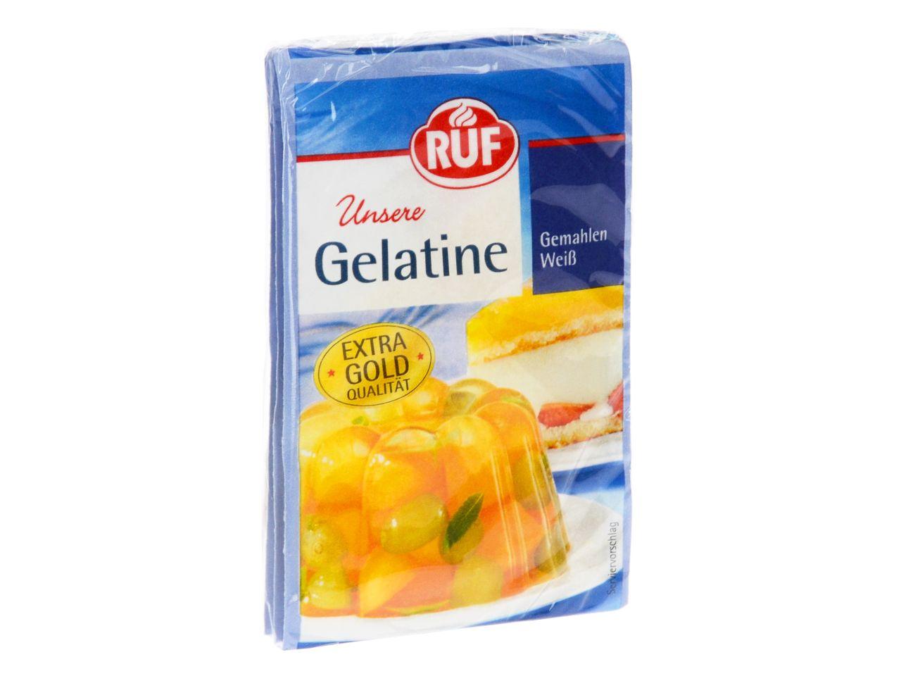 Gelatine Gemahlen