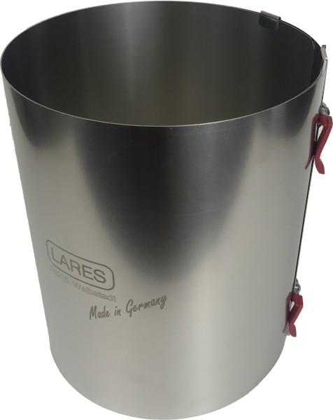 Tortenring 20cm hoch (18-30) - verstellbar mit Klemmhebel