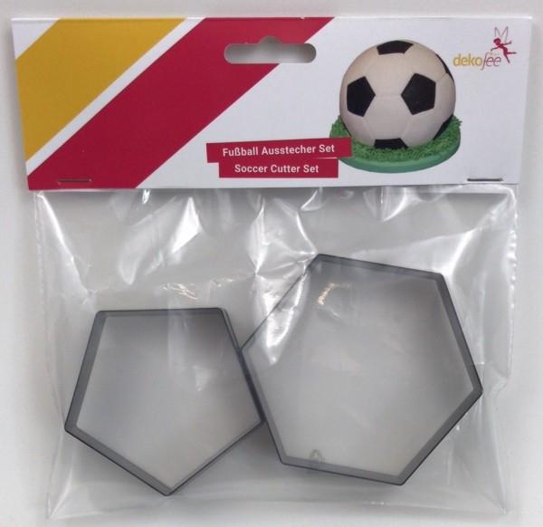 Fussball Ausstecher Set