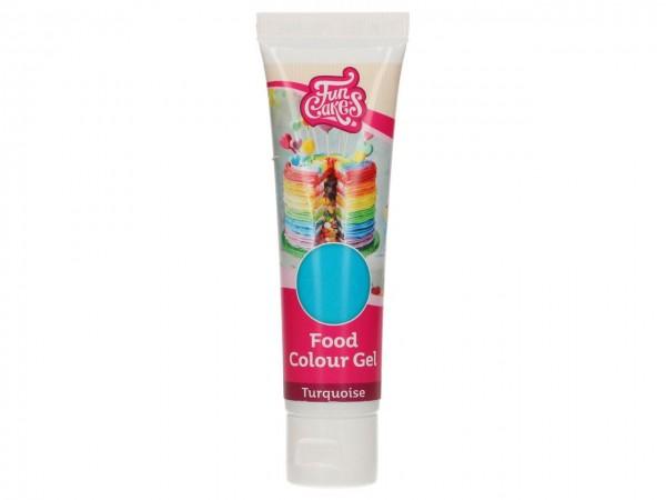 Edible FunColours Gel - Turquoise 30g - FunCakes