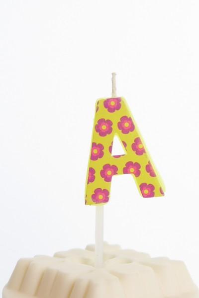 Kerzen Alphabet