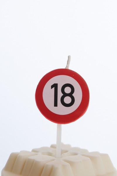 Geburtstag Kerze Torte Fondant Kuchen