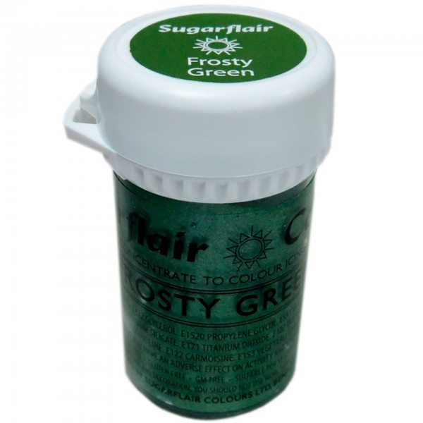 Sugarflair - Pastenfarbe Satin - Forsty Green 25g