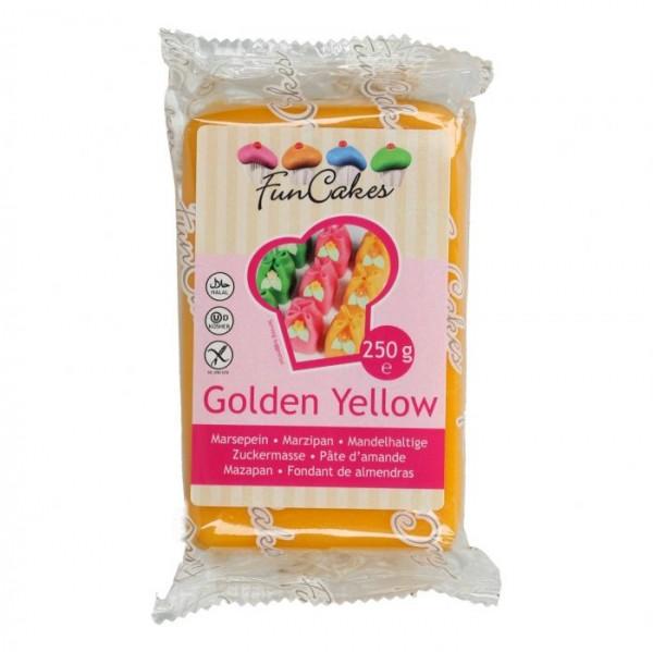 Golden Yellow Marzipan ähnliche Zuckermasse