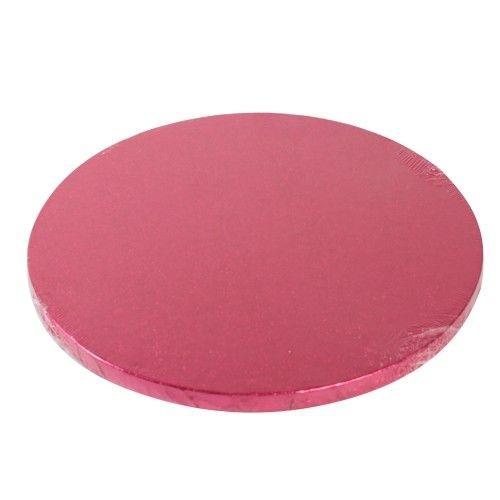 Pinke Kuchenplatte / Cake Drum Rund