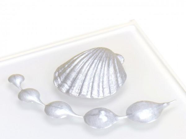 Metallic Helles Silber RD Lebensmittelfarbe