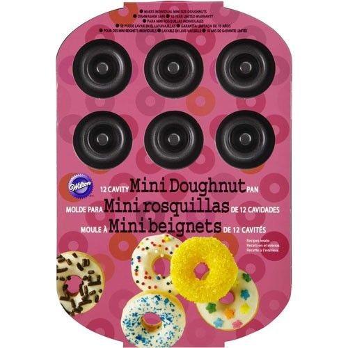 Wilton 12-Cavity Mini Doughnut Pan_1
