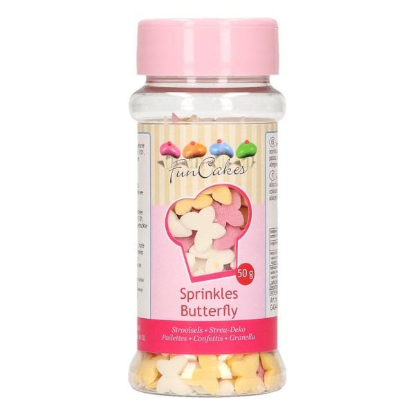 Funcakes Confetti Schmetterlinge