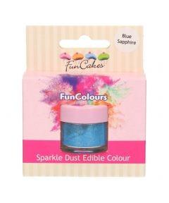 FunCakes Edible FunColours Sparkle Dust - Blue Sapphire