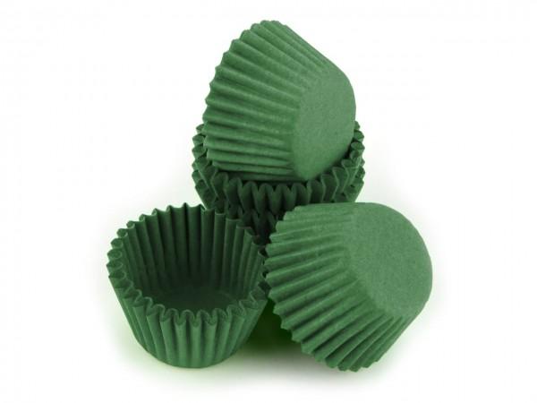 Pralinenförmchen 25mm grün 100 Stück