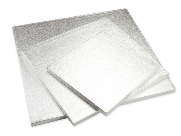 Kuchenplatte 12mm Quadrat 28cm