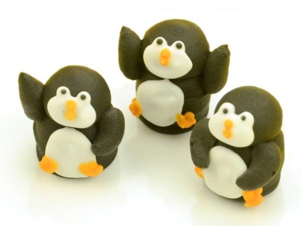 Zuckerdekor Pinguine 5Stk
