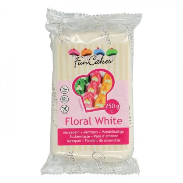 Floral White Marzipan ähnliche Zuckermasse