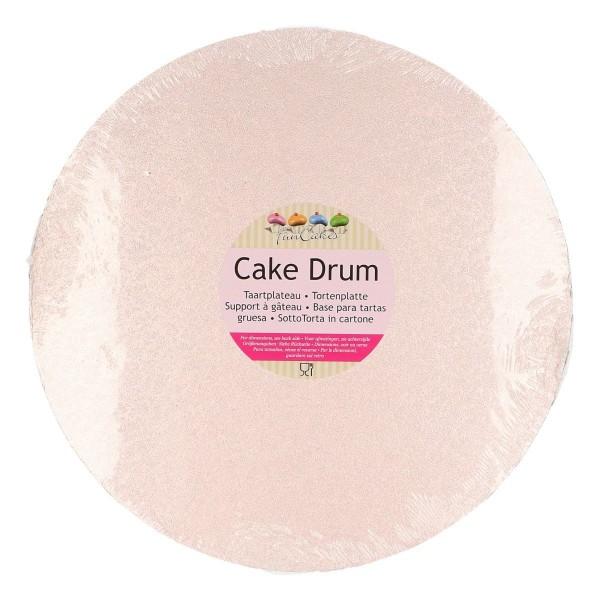 Rose Gold Kuchenplatte / Cake Drum Rund 30,5cm