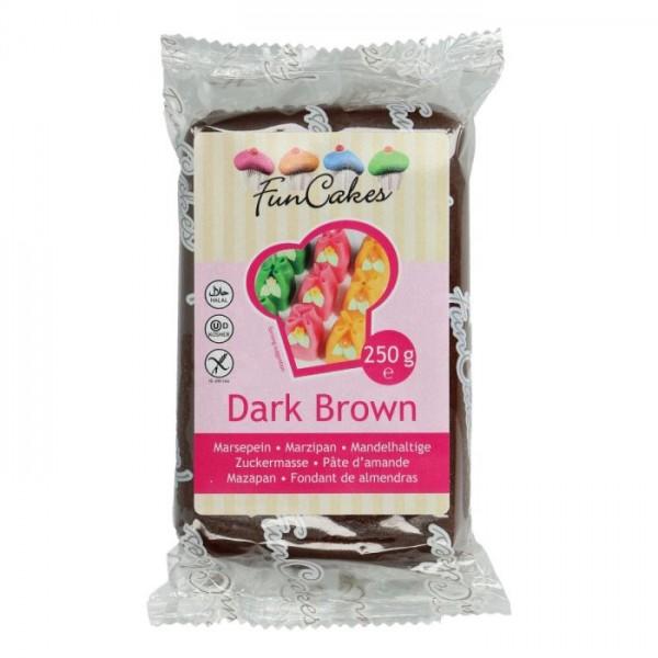 Dark Brown Marzipan ähnliche Zuckermasse