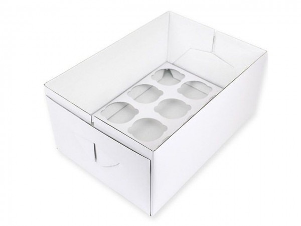 Cupcake Box 12 - 14cm hoch