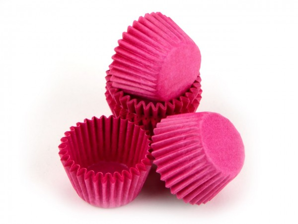 Pralinenförmchen 25mm pink 100 Stück