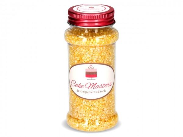 Zuckerstreu gelb Glimmer 100g