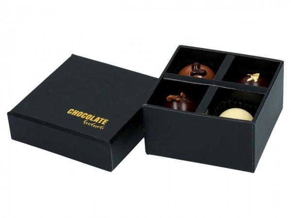 Chocolate Case für 4 Pralinen