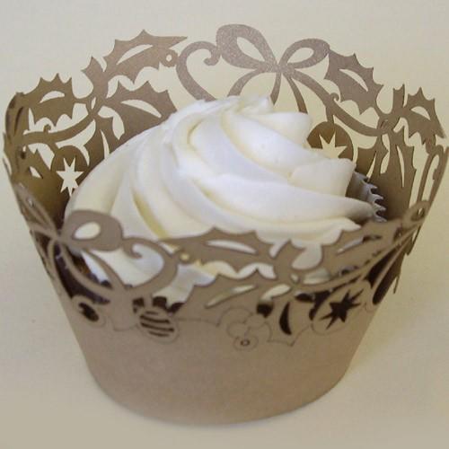 Cupcake Wrapper Gold