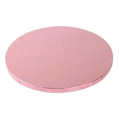 Rosa Kuchenplatte / Cake Drum Rund