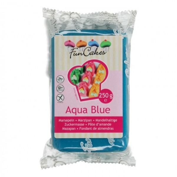 Aqua Blue Marzipan ähnliche Zuckermasse