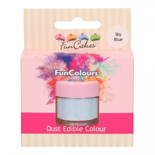FunCakes Edible FunColours Dust - Sky Blue