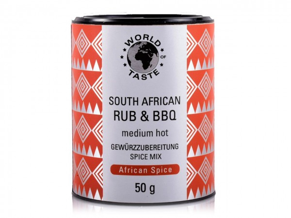 South African Rub & BBQ 50g