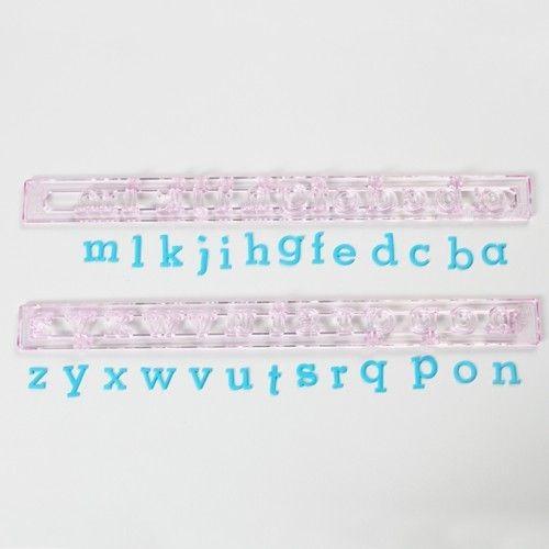 Buchstaben Ausstecher - Klein Kursiv